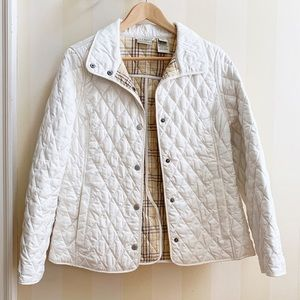 L.L. Bean Quilted Riding Jacket XS